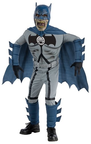 Blackest Night Deluxe Zombie Batman Costume And Mask - Large front-1022923