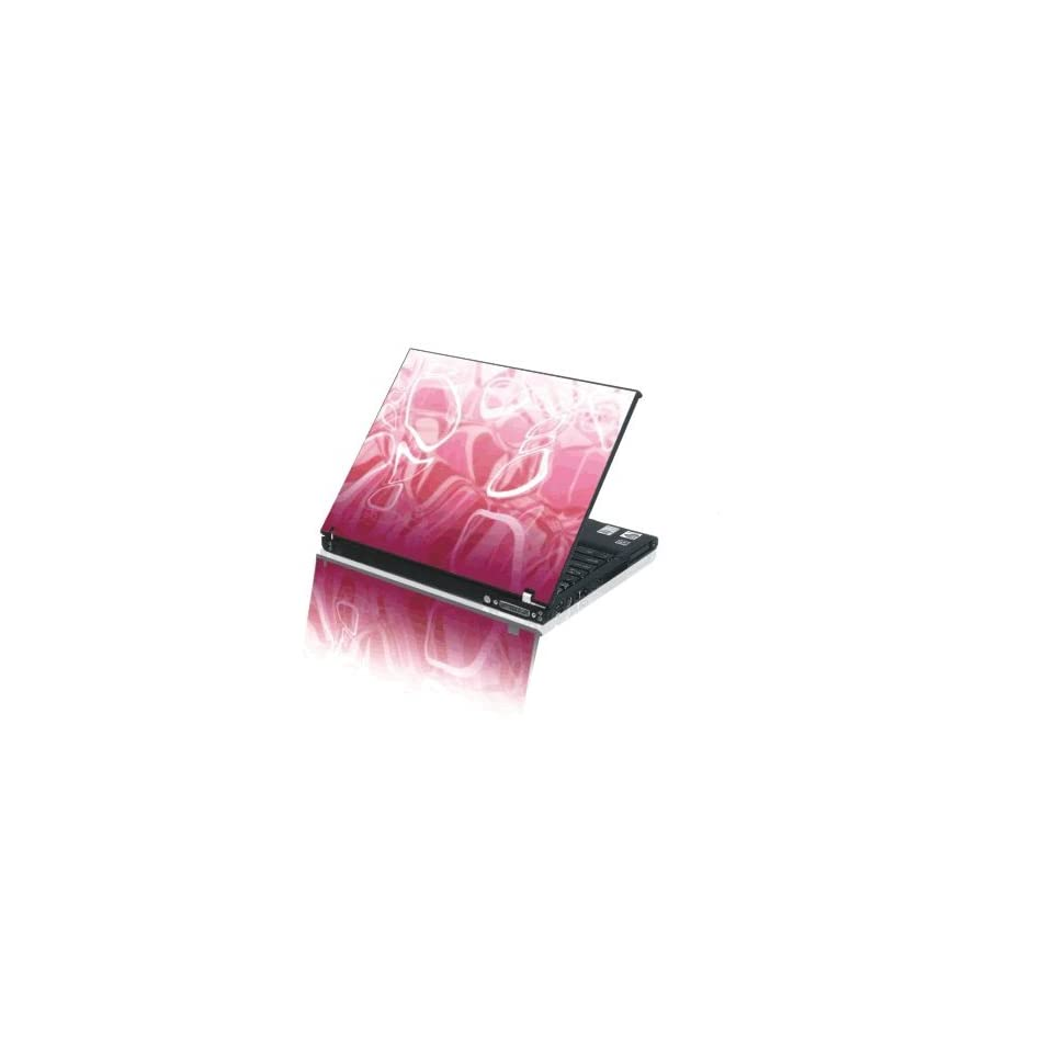 Laptop Notebook Skins Sticker Cover H365 Pink Decal (Brand New with 2 FREE touch pad decals)