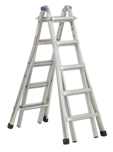 Werner MT-22 300-Pound Duty Rating Telescoping Multi-Ladder, 22-Foot photo