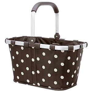 reisenthel market basket patterned in brown. Black Bedroom Furniture Sets. Home Design Ideas