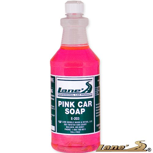 Lane's Car Products Pink Car Soap - 16 oz