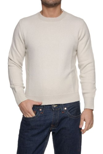C.P. Company by Stone Island Men's Jumper, Color: Cream, Size: S