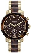 Fossil Womens JR1382 Natalie Two-Tone Stainless Steel Watch