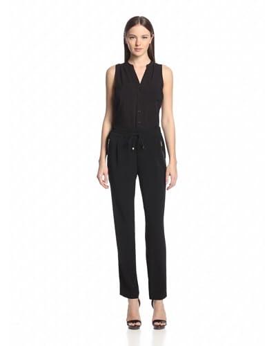 Calvin Klein Women's Woven Solid Drawstring Pant