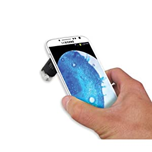 Carson HookUpz MicroMax Plus 60x-100x LED Microscope with Samsung Galaxy S4 Adapter (MM-240)