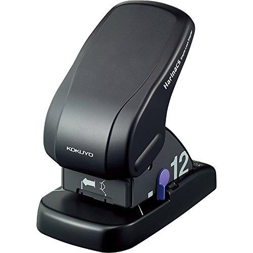 コクヨ 針なしステープラー ハリナックス 卓上タイプ 12枚とじ 黒 SLN-MS112D