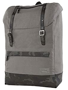 """HEX Outpost Cloak Backpack for up to 15"""" Laptop - Grey Canvas - HX1376-GREY"""