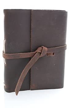 Genuine Leather Rustic Rider Photo Album - Stores 100 4x6 Photos