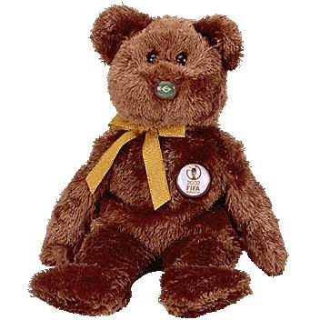 TY Beanie Baby - CHAMPION the FIFA Bear ( Brazil )