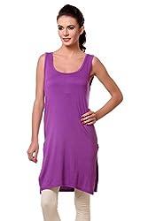 TeeMoods Womens Night Shirt Top_TM-1613PURPLE-L