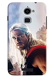 Clarks Thor Inspired Hard Plastic Printed Back Cover/Case For Coolpad Note 3 Lite
