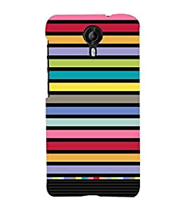 Lover Lines Art Pattern 3D Hard Polycarbonate Designer Back Case Cover for Micromax Canvas Nitro 4G E455