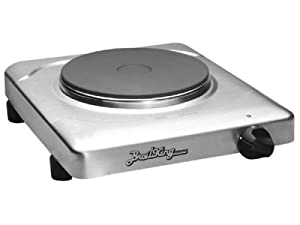 Cadco PCR-1S Professional Cast Iron Range, Stainless by Broil King
