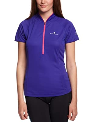 Ronhill Women's Trail Short Sleeve Zip Tee from Ronhill