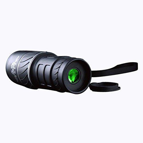 POTO 40x60 Mini Outdoor HD Portable Monocular Telescope, Panda Non-infrared Shockproof Telescope Hiking Traveling (3 Inch Outside Vent compare prices)