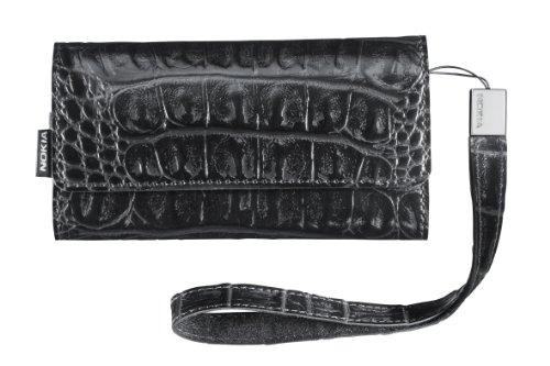 Nokia CP-522 Universal Leder Handytasche schwarz