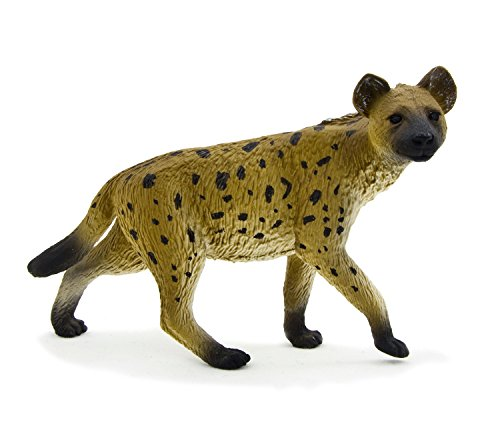 Mojo Fun 387089 Hyena - Realistic International Wildlife Toy Replica
