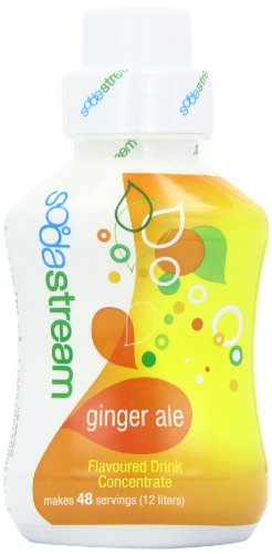 Sodastream Flavouring Syrup Ginger Ale 500 ml Bottle (Pack of 6)