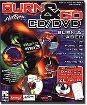 Burn & Go CD/ DVD