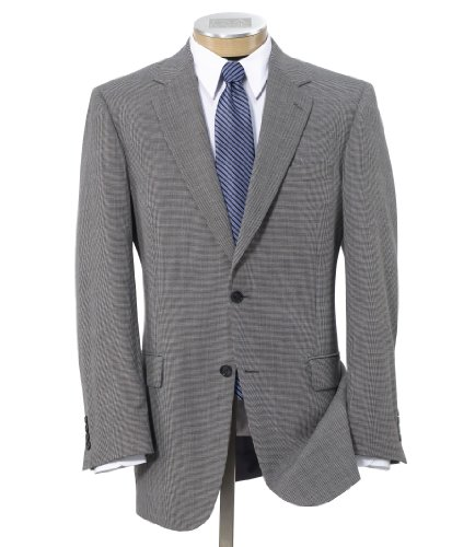 Factory Store Classic 2 Button Black/White Check Suit
