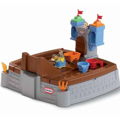 An Image of Little Tikes Castle Adventures Sandbox