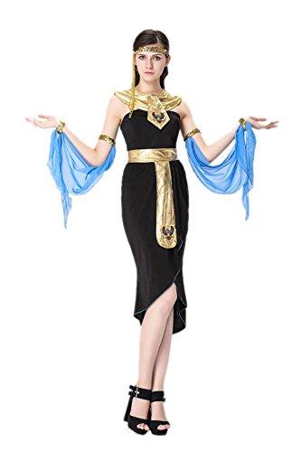 honeystore damen halloween kost me kleopatra und griechischen g ttin cosplay karneval. Black Bedroom Furniture Sets. Home Design Ideas
