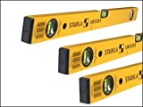 Stabila 70-2 Series Double Plumb Level Pack 60 + 120 + 180cm STB702SET
