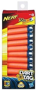 Nerf 33629148 Dart Tag Darts - Lote de proyectiles para Dart Tag (36 unidades)