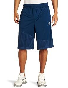 Reebok Men's Zig S12 Short, Industrial Blue/Sun Rock, XX-Large