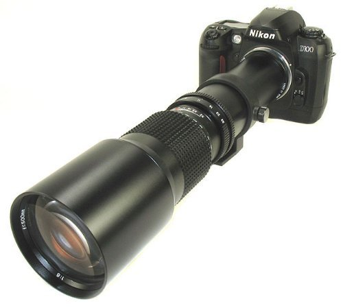 Bower 500 Mm Preset Telephoto Lens
