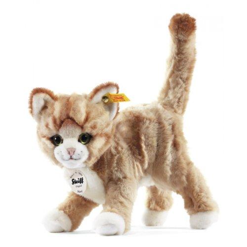 Steiff 099342 - Mizzy Katze gestromelt stehend,