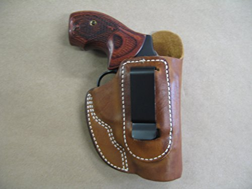 Charter Arms / Undercover Bulldog IWB Leather In The Waistband Concealed Carry Holster TAN (Charter Arms 44 Bulldog compare prices)