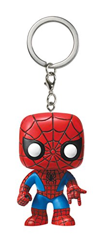 Funko Pocket Pop Keychain Marvel: Spider-Man Vinyl Action Figure Collectible Toy