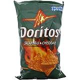 Doritos Tortilla Chips, Jalapeno and Cheddar, 260 Grams/9.2 Ounce