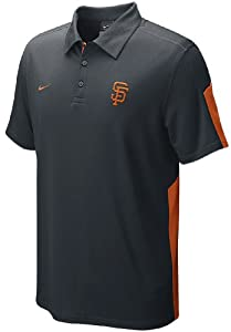 San Francisco Giants AC Dri-FIT Baseball Polo by Nike by Nike