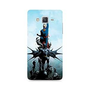 Motivatebox - Batman vs Superman Comic Samsung Galaxy Grand 3 G7200 cover - Polycarbonate 3D Hard case protective back cover. Premium Quality designer Printed 3D Matte finish hard case back cover.
