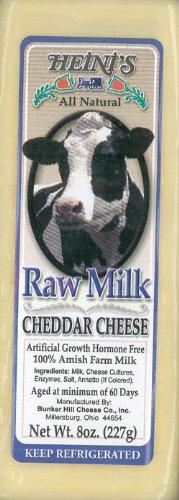 Heini's Raw Milk Cheddar Cheese