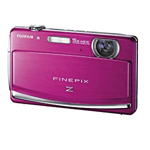 Fujifilm FinePix Z90 14 MP Digital Camera with Fujinon 5x Wide Angle Optical Zoom Lens and 3-Inch Touch-Screen LCD (Pink)