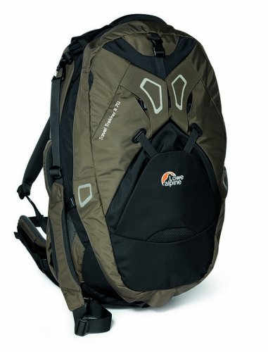 Lowe Alpine Travel Trekker II 70 Adjustable Travel Pack (Truffle/Phantom Blk)