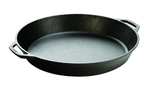 Lodge L17SK3 Pre-Seasoned Cast Iron Skillet, 17-inch (Large Paella Pan compare prices)