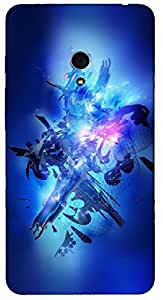 Timpax protective Armor Hard Bumper Back Case Cover. Multicolor printed on 3 Dimensional case with latest & finest graphic design art. Compatible with ASUS ZenFone Design No : TDZ-25538