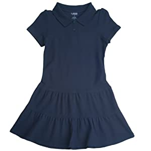 French Toast School Uniforms Ruffled Pique Polo Dress Girls by French Toast School Uniforms