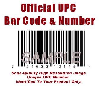 UPC Bar Code and UPC Number