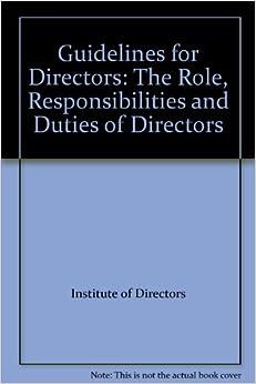 duties of directors