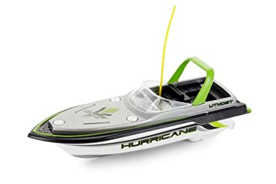 Mini RC Speed Boat (Color May Vary: Red, Yellow, Blue, or Green)