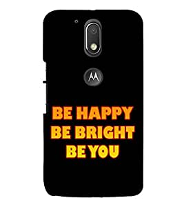 Life Quote 3D Hard Polycarbonate Designer Back Case Cover for Motorola Moto G4 Plus :: Moto G4+
