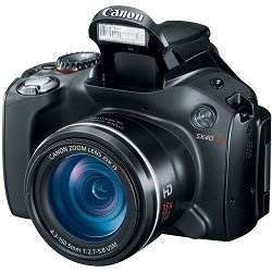 Canon SX40 HS 12.1MP Digital Camera with 35x Wide Angle Optical Image Stabilized Zoom and 2.7-Inch Vari-Angle Wide LCD