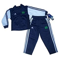 Notre Dame Fighting Irish 4T Adidas Track Jacket & Pants Set - New with Tags... by adidas