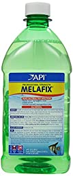 API Melafix Antibacterial Fish Remedy, 64-Ounce