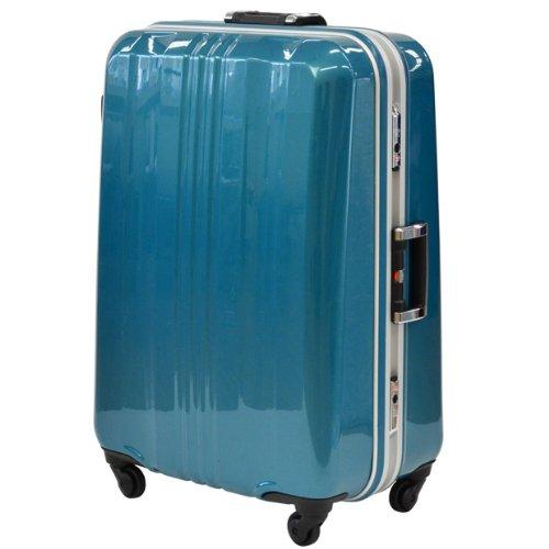 SPALDING スポルディングスーツケース TSAロック サブシェルロック ハードキャリー 96L 5日 6日用 71cm SP-0650 (グリーン)